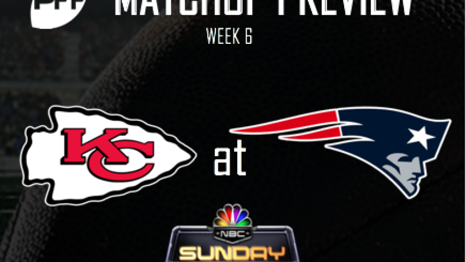Nfl Week 6 Nbc Kansas City Chiefs New England Patriots Preview Nfl News Rankings And Statistics Pff