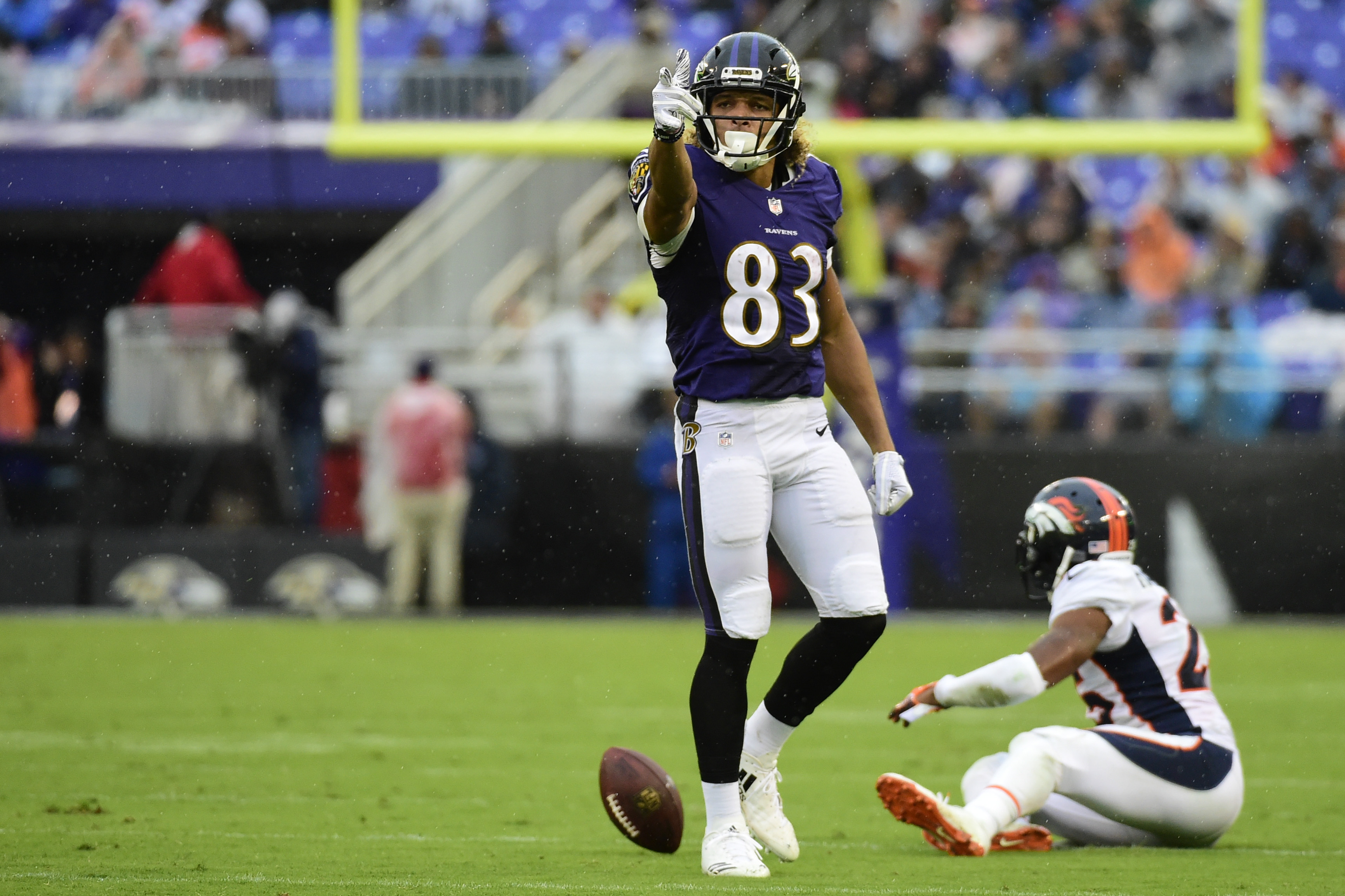 Baltimore Ravens WR Willie Snead