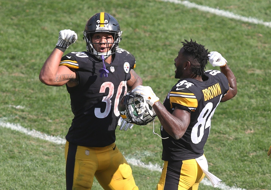 Replacing One Of The Most Productive Running Backs In The Last Five Seasons Is A Tall Task But Pittsburgh Steelers Running Back James Conner Is Making The