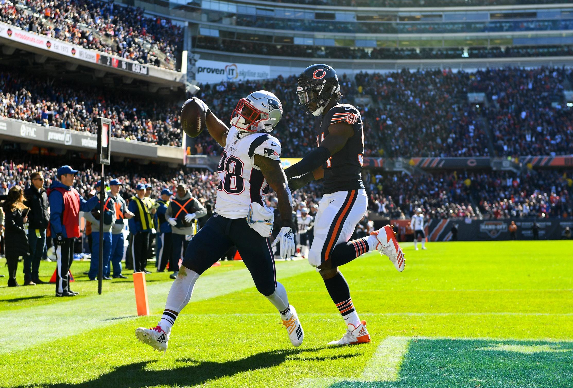 Refocused, NFL Week 7: New England Patriots 38, Chicago Bears 31