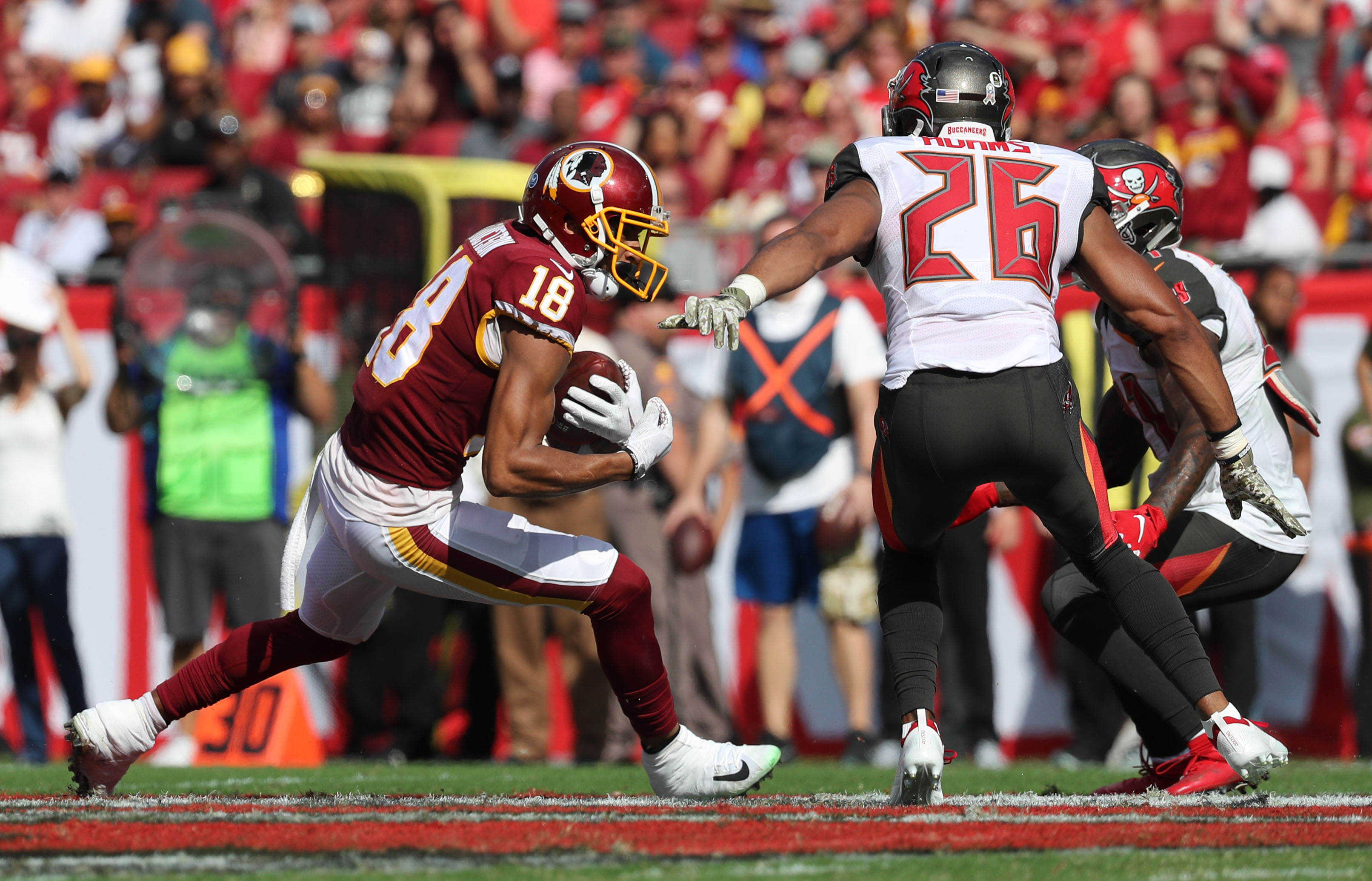 Banged-up Redskins find beauty in ugly road win in Tampa