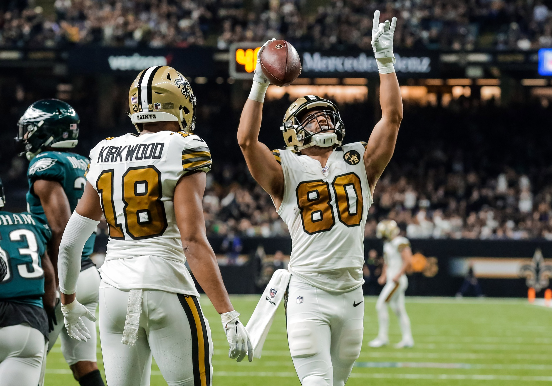 Refocused Nfl Week 11 New Orleans Saints 48 Philadelphia Eagles 7