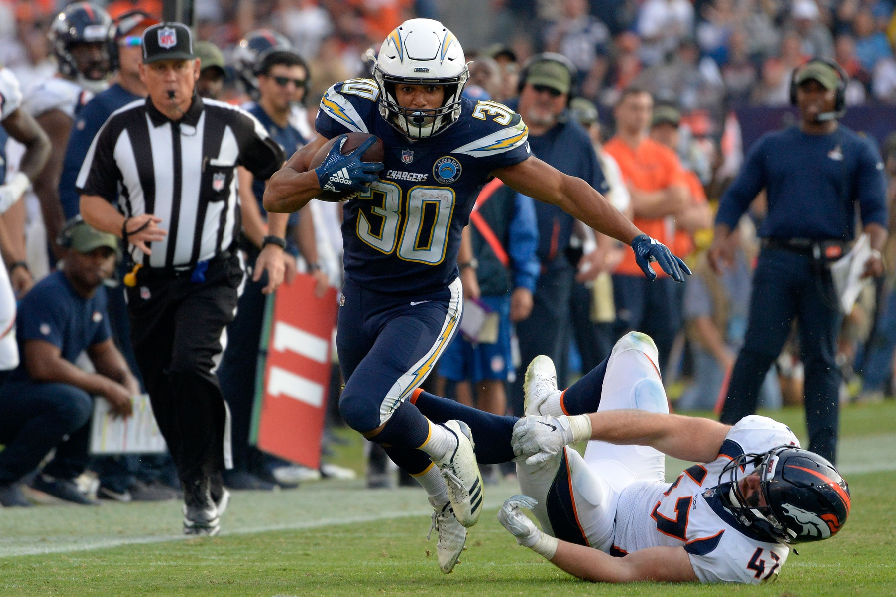 Image result for melvin gordon austin ekeler