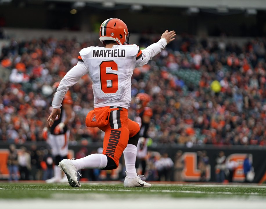 26cf804aa73dae If you just looked at Baker Mayfield's numbers prior to the firing of  Cleveland Browns' head coach Hue Jackson and offensive coordinator Todd  Haley in late ...