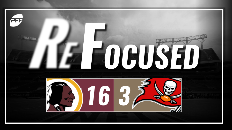 Redskins force four turnovers, bounce back against Buccaneers 16-3