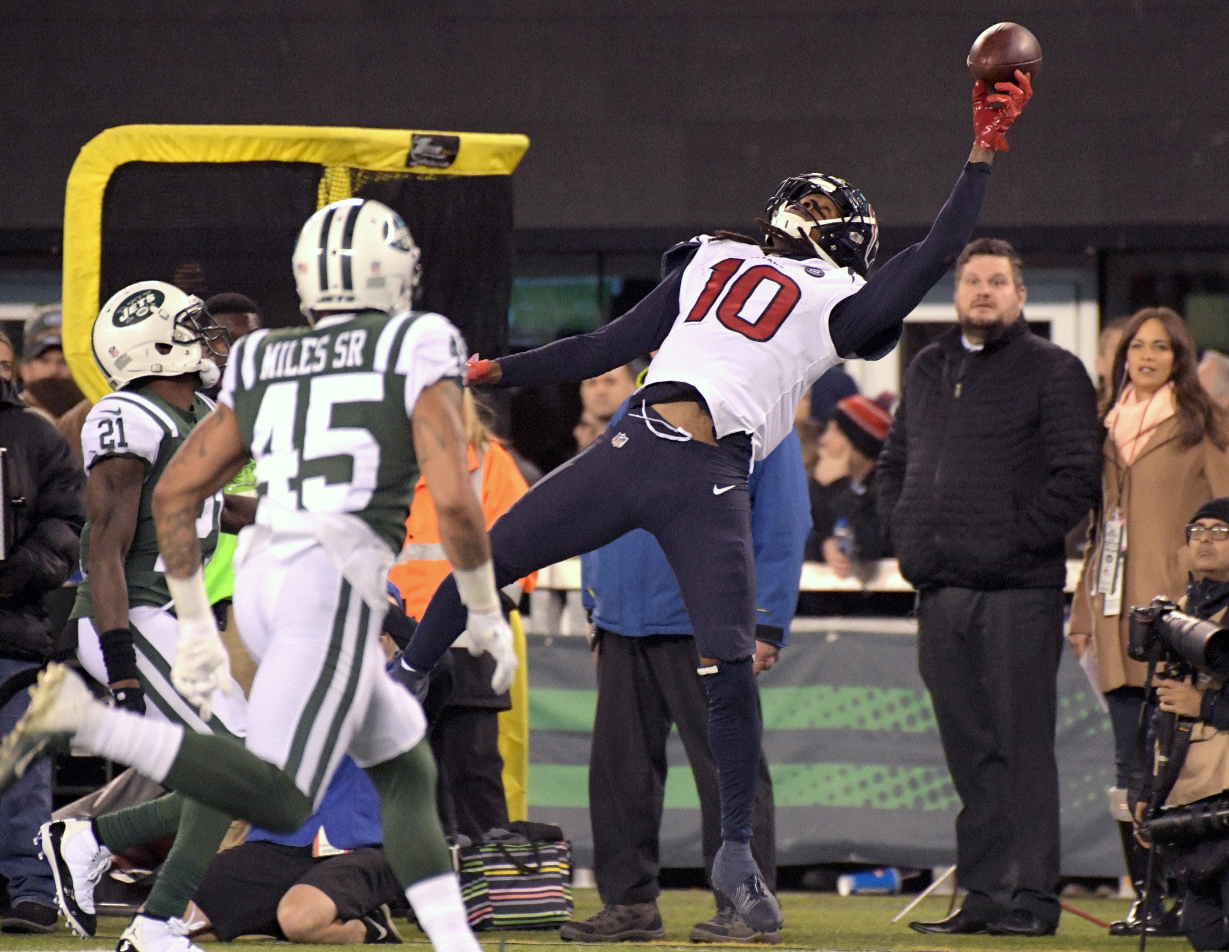 DeAndre Hopkins in the most valuable non-quarterback in the NFL