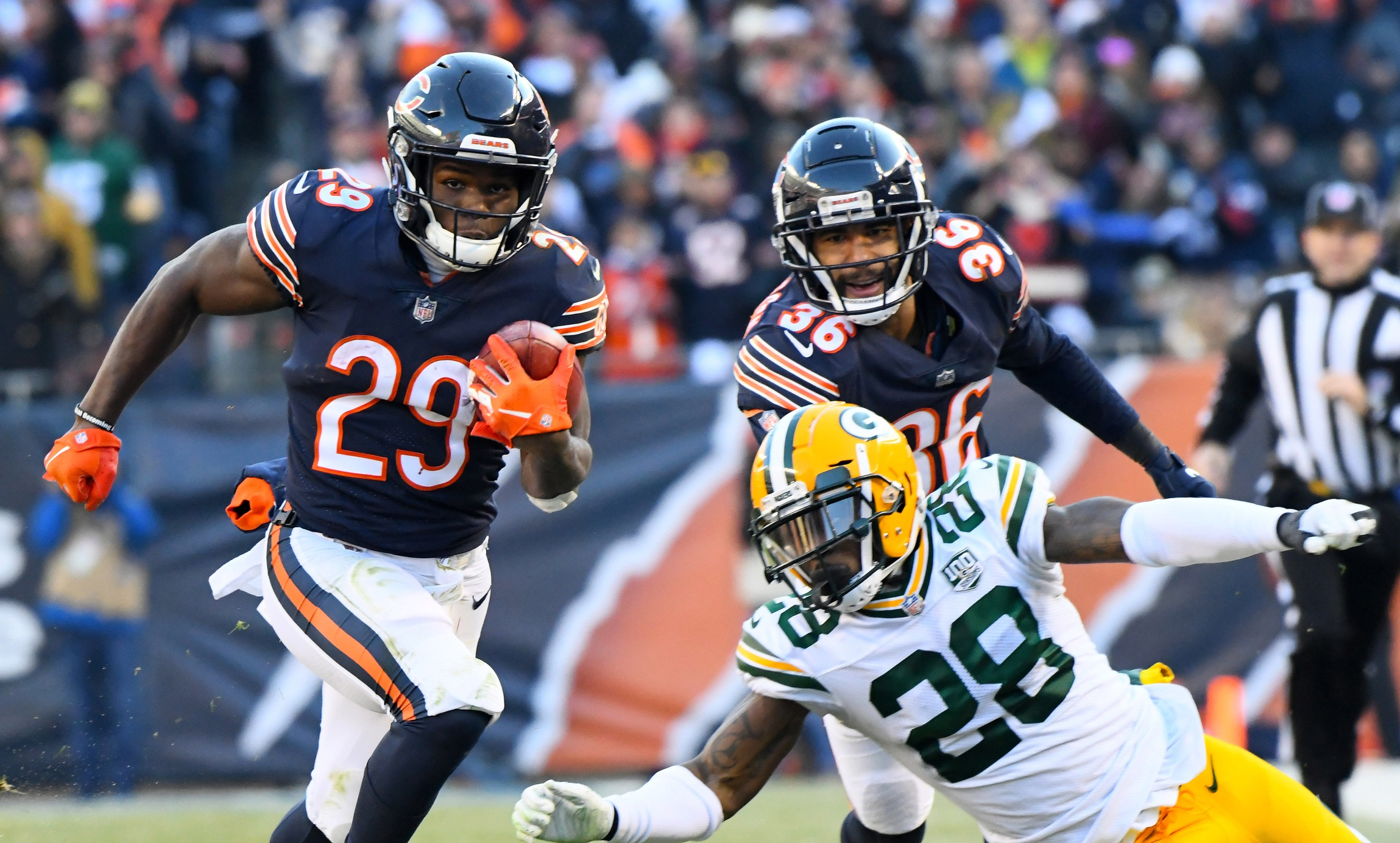 Bears' Tarik Cohen is one of the most valuable running backs in football