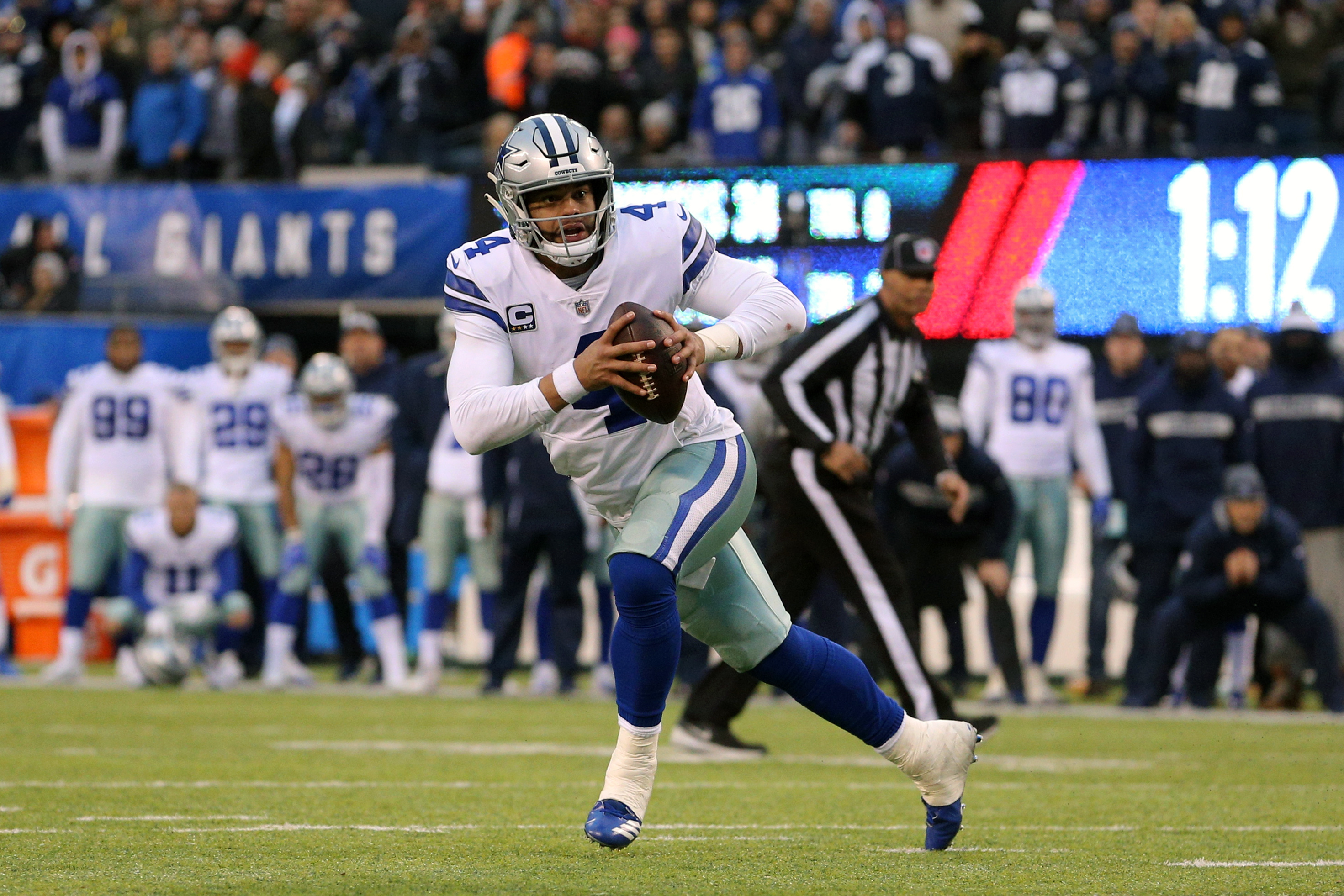 NFL Bad Beats, Week 17: Cowboys Hail Mary Breaks Giants Bettors' Hearts