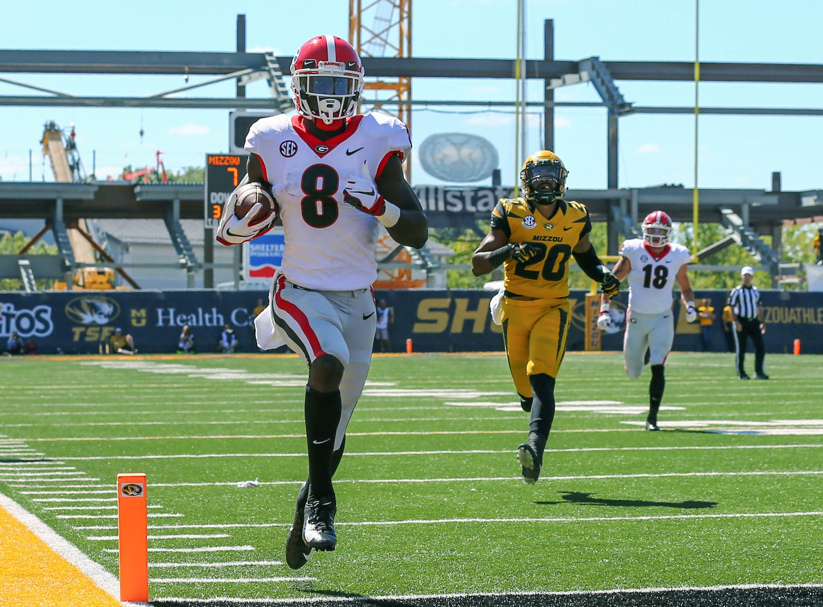 Georgia standout WR Riley Ridley points to physicality, sure-handedness as key strengths