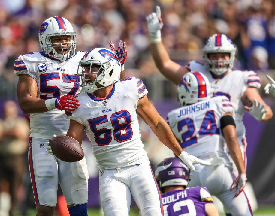 Buffalo Bills' Matt Milano improved significantly in Year 2 of his career | NFL News, Rankings and Statistics | PFF