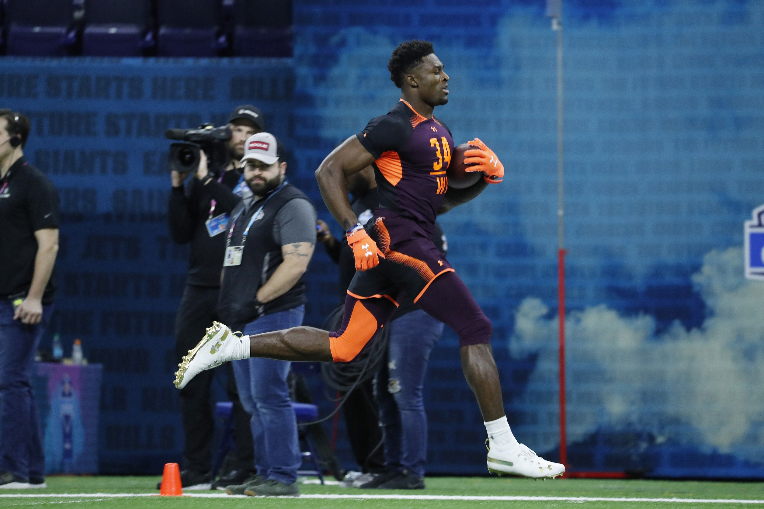 Ray Lucas erupts in hysterics after New York Giants pick Daniel Jones