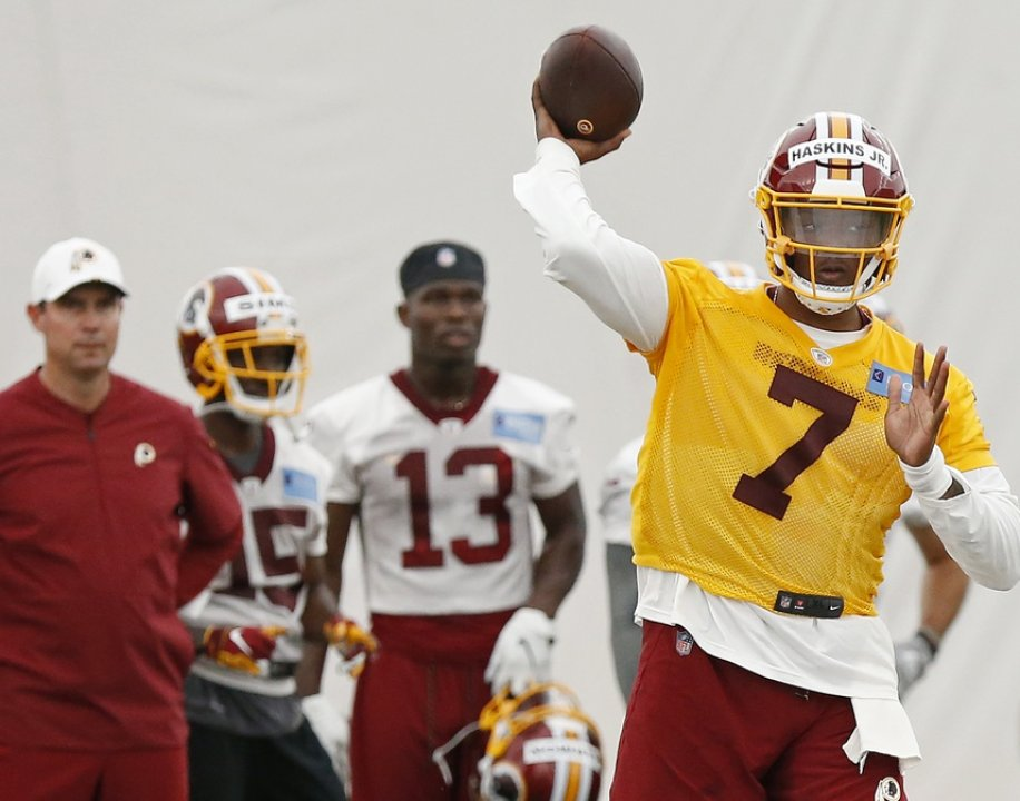 8ffde963326 When the Washington Redskins drafted Dwayne Haskins with the 15th overall  pick of the 2019 NFL Draft, they got themselves a quarterback who graded  well and ...