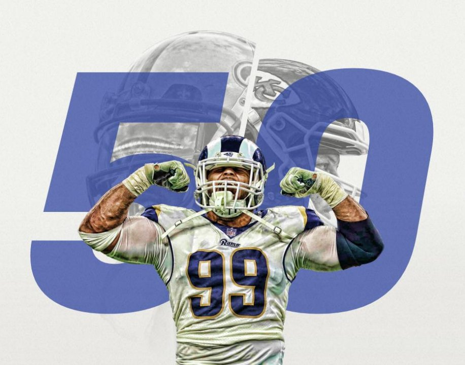 Aaron Donald named No. 1 on the PFF50 for the third straight year | NFL News, Rankings and Statistics | Pro Football Focus
