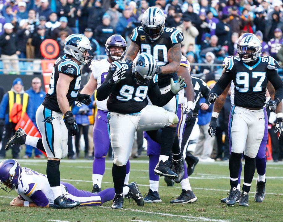 Panthers' Kawann Short will be challenged with his move to 3-4 defensive end