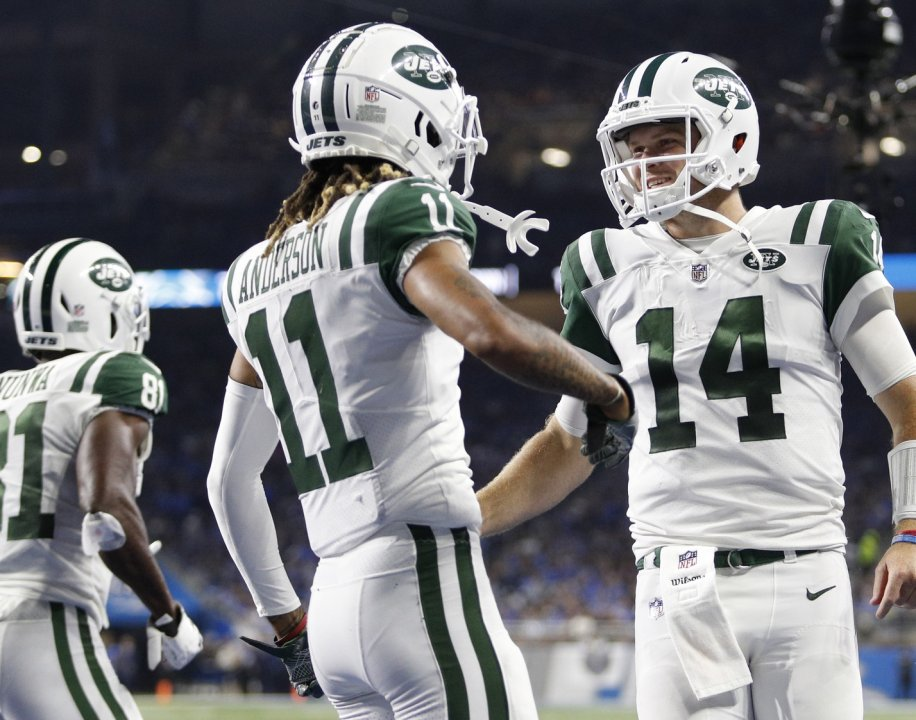 The Jets' duo of Sam Darnold and Robby Anderson was one of the best down the stretch of the 2018 season | NFL News, Rankings and Statistics | Pro Football Focus