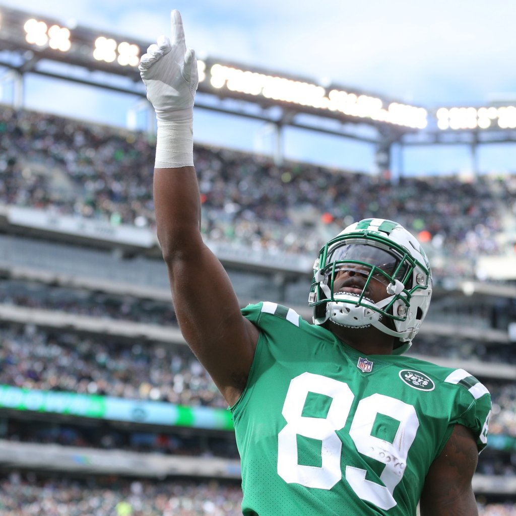 Jets TE Chris Herndon will be hoping to build on a promising rookie campaign