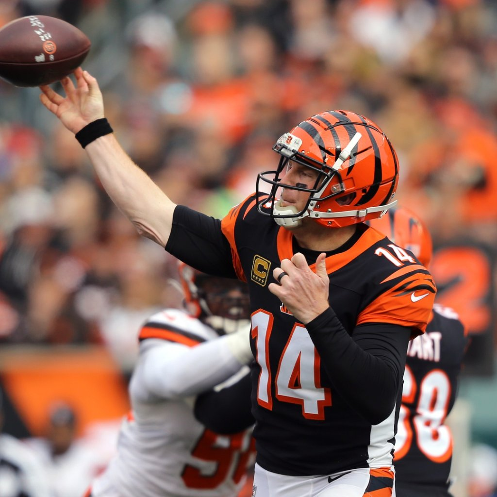 Now in a new offense, Bengals' Andy Dalton will be hoping to build off his career-best season