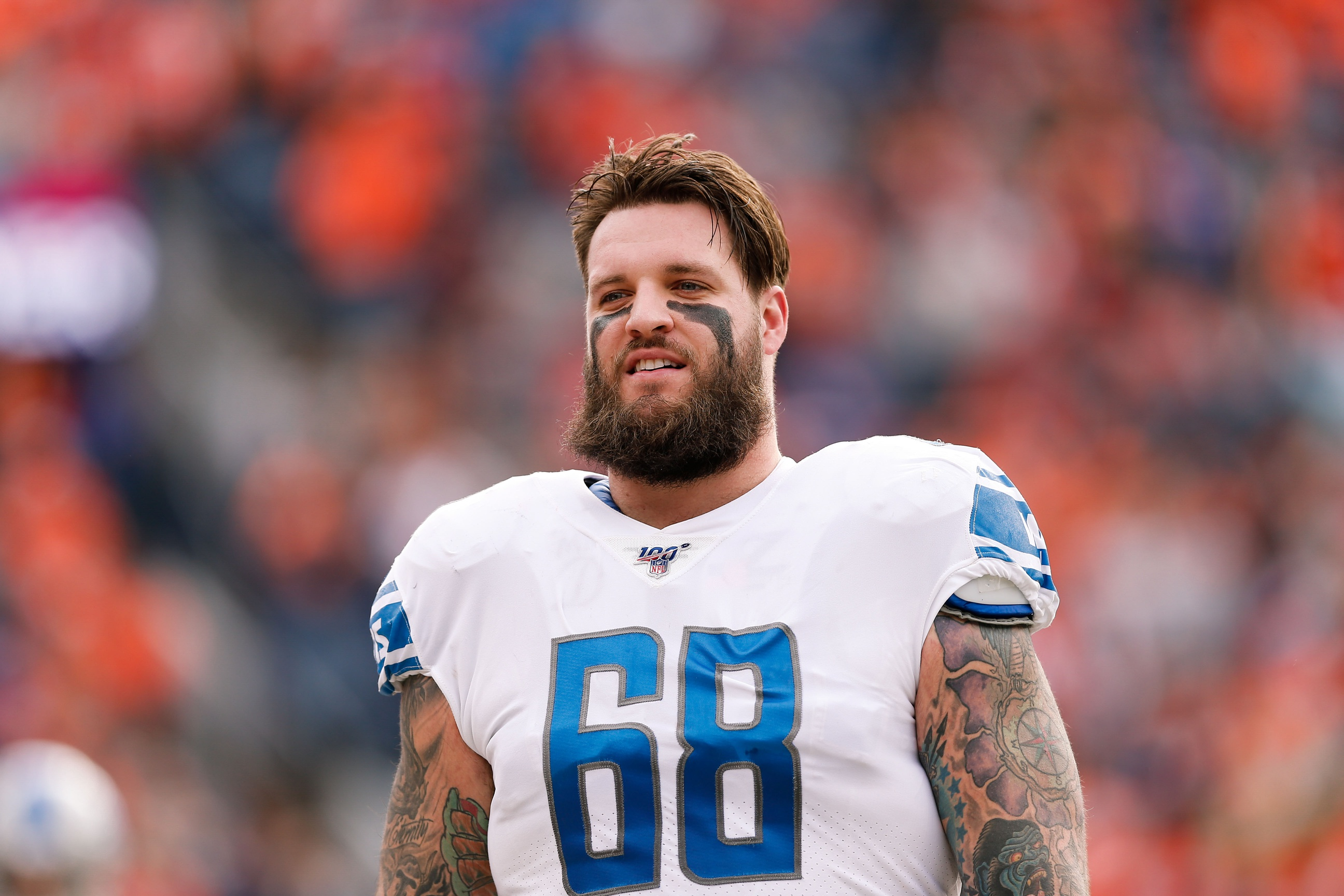 taylor decker lions jersey