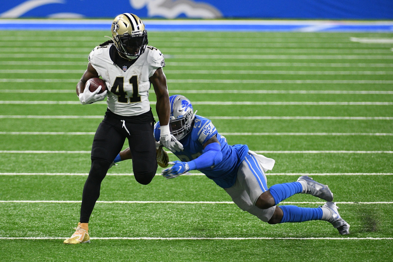 Sleepless Saints answer wake-up call against Lions
