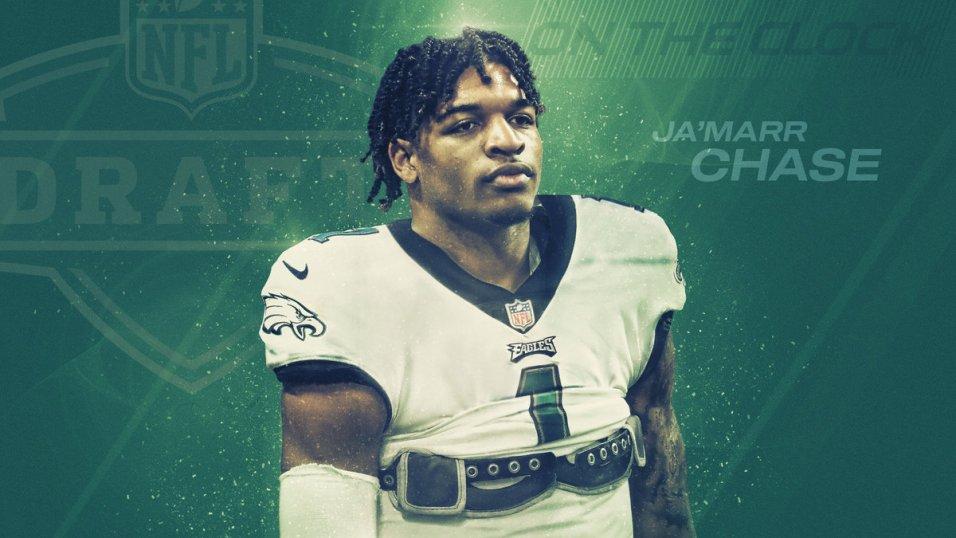 2021 NFL Mock Draft: Miami picks WR Devonta Smith at No. 3, Ja'Marr Chase lands in Philadelphia at No. 6   NFL Draft   PFF