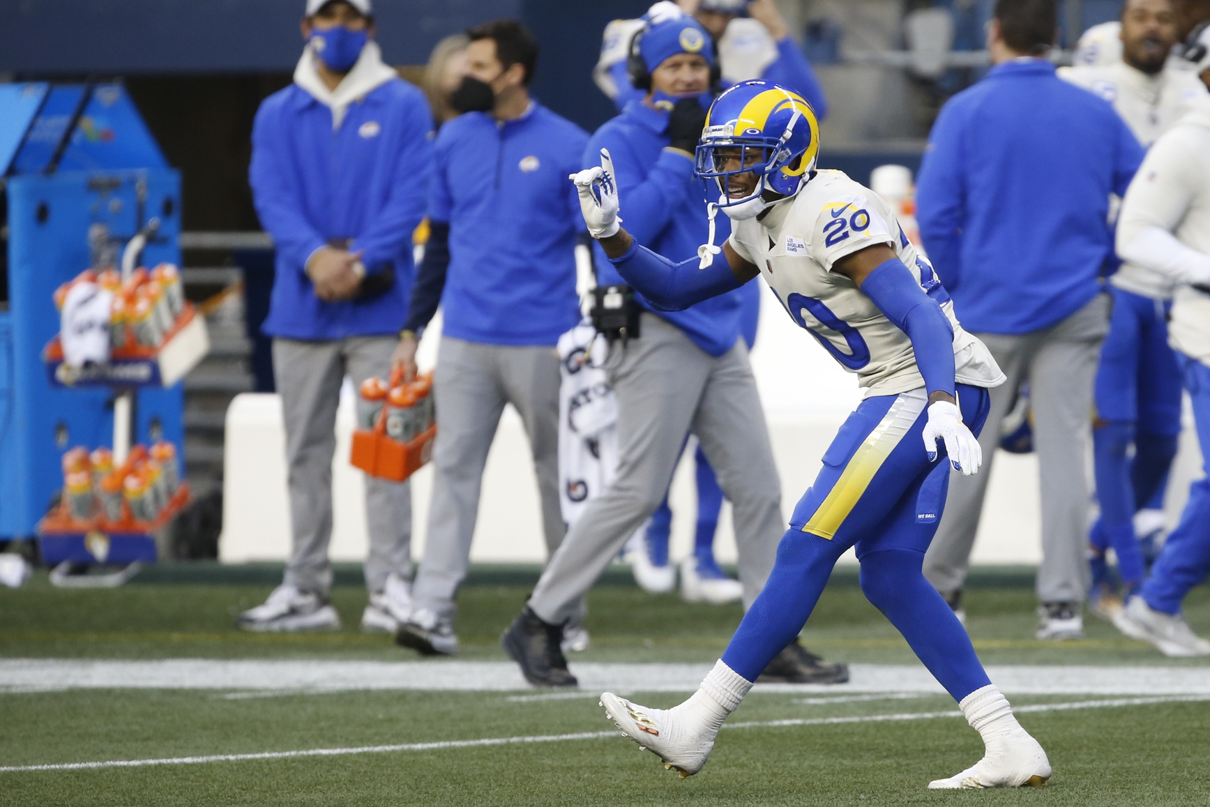 Rams get better of division-rival Seahawks in 1st round