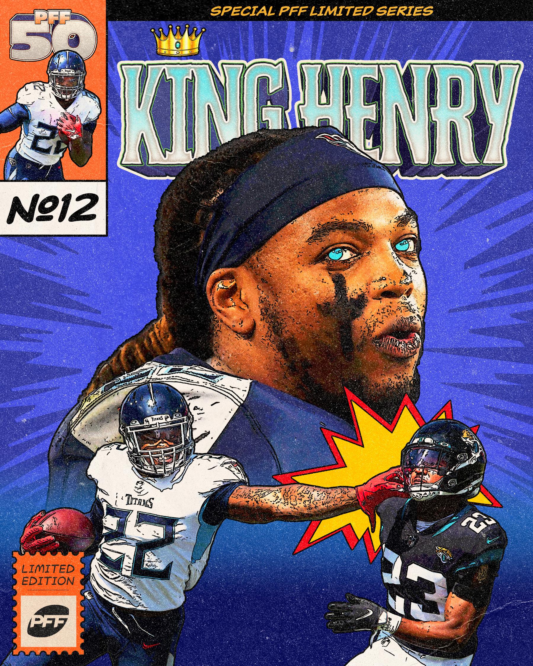 Tennessee Titans RB Derrick Henry King Henry