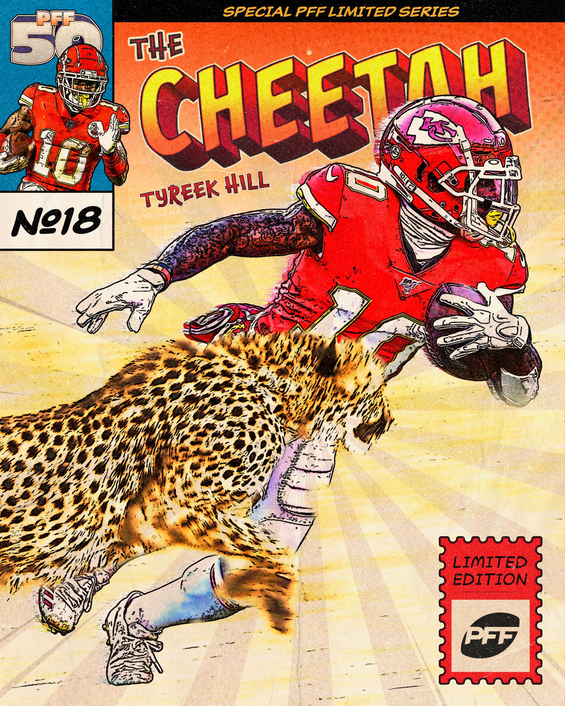 Kansas City Chiefs WR Tyreek Hill