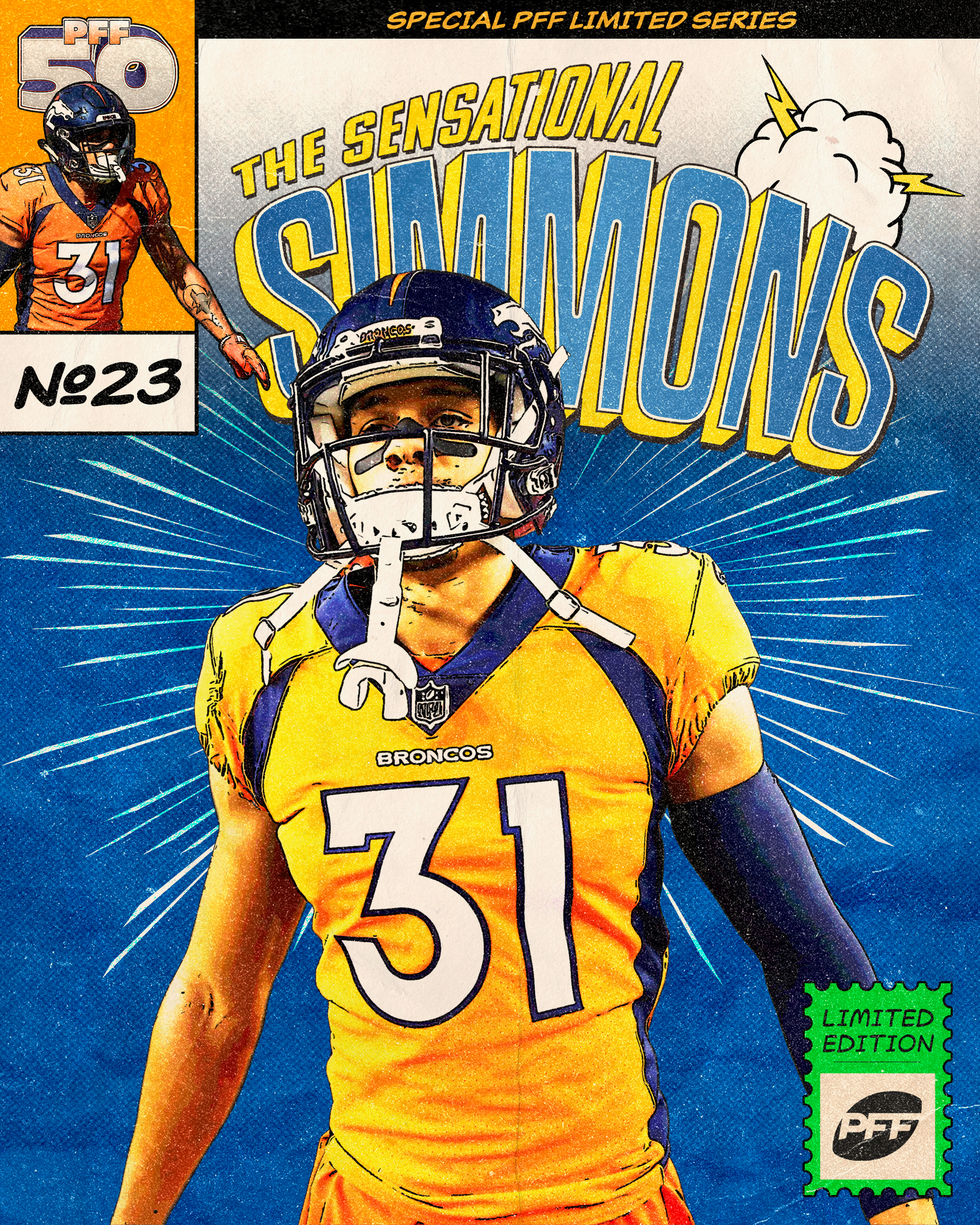Denver Broncos Justin Simmons
