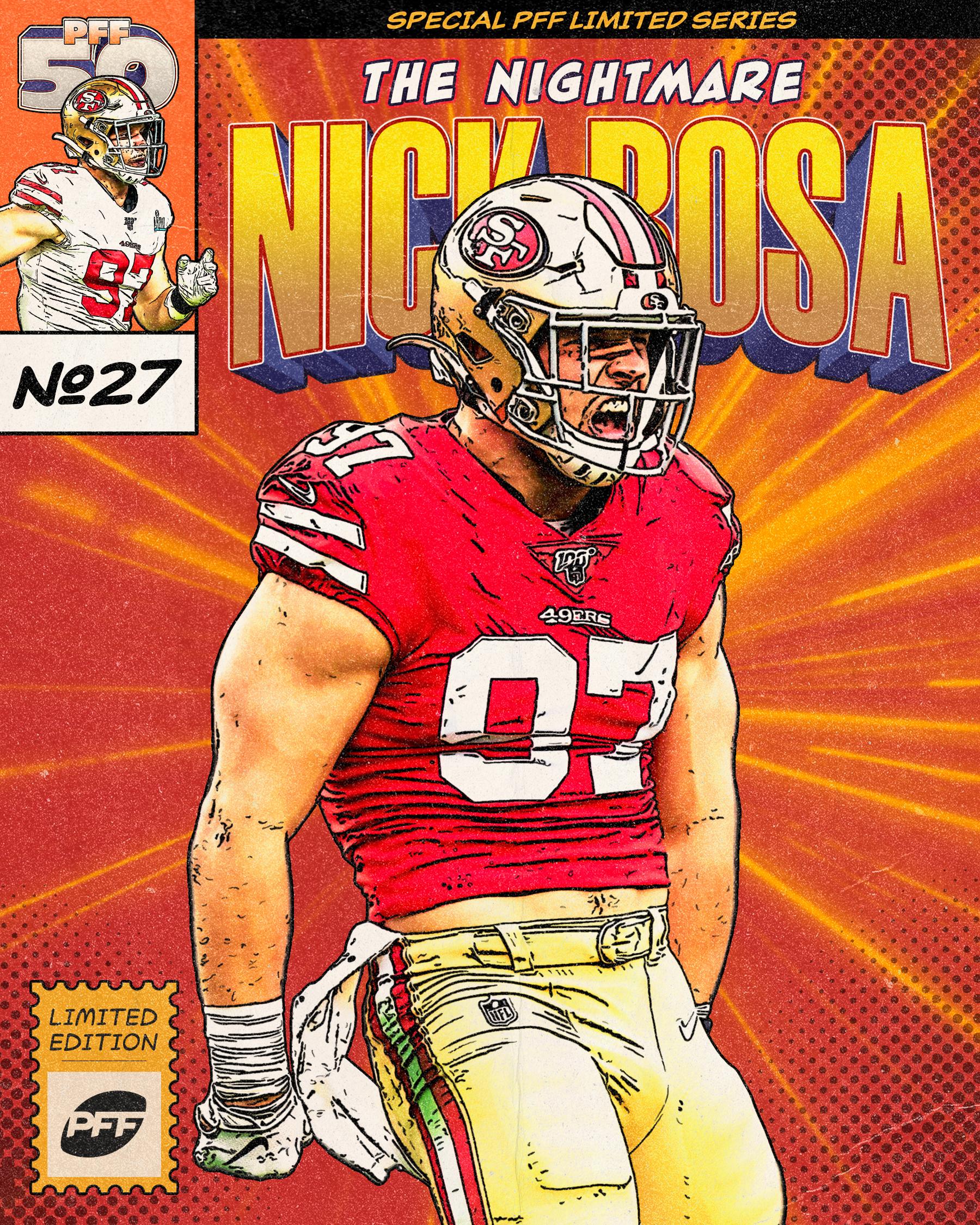 San Francisco 49ers EDGE Nick Bosa